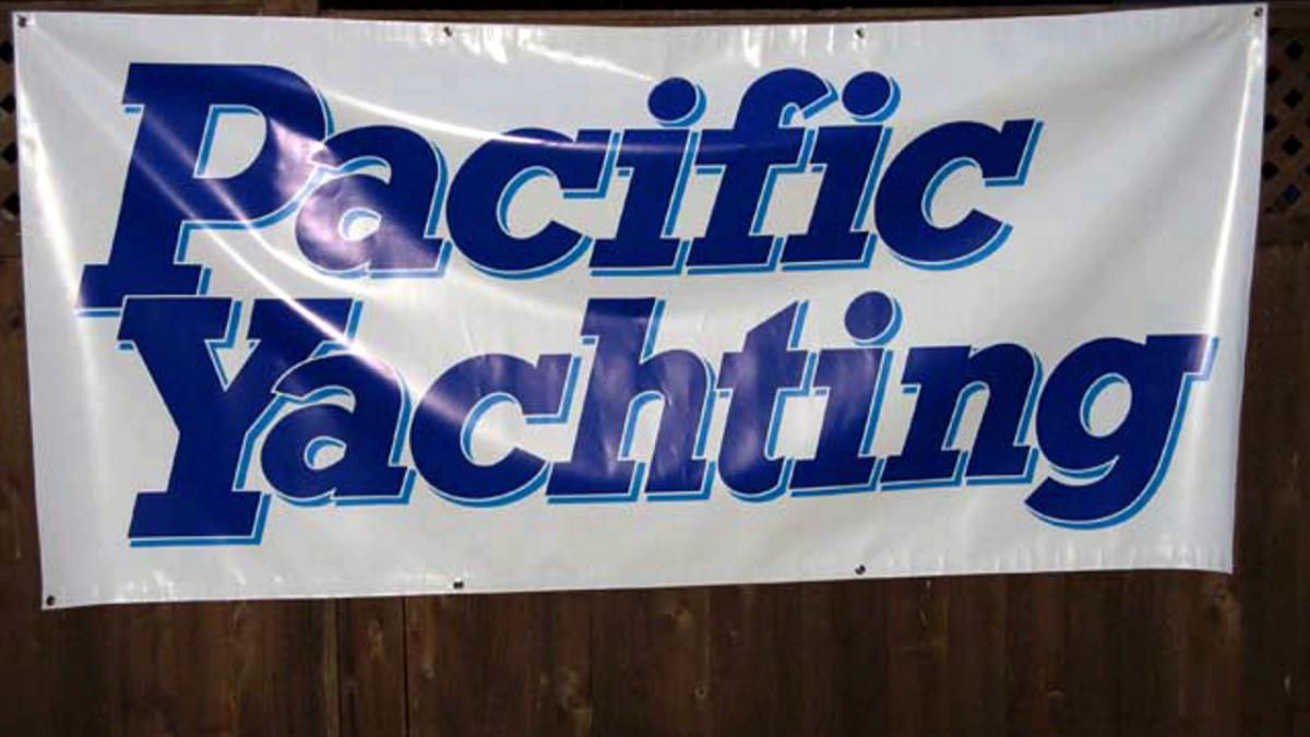 banner pacific yachting there it is specialty prints vancouver bc4
