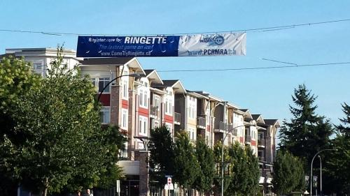 poco ringette banner there it is specialty prints vancouver bc