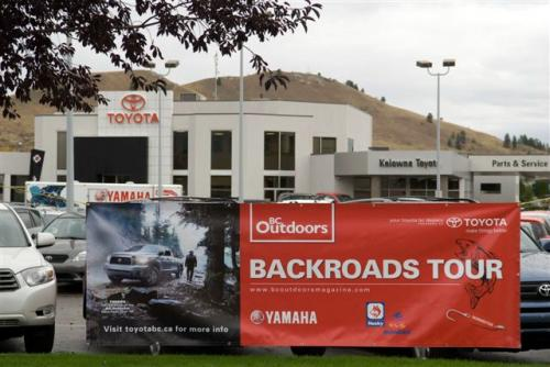 thereitisprinting banner for toyota