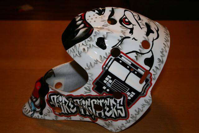there it is printing custom hockey goalie mask 1
